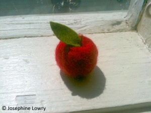 Bossy's Feltworks apple