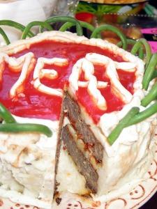 Mmmmeat cake!