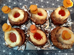 Bloody Mary Meatloaf Potato Cup
