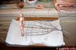 Bacon cornucopia wire form