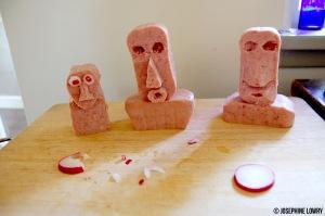 Easter Island Spam Heads